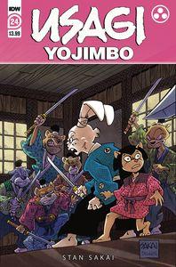 [Usagi Yojimbo #24 (Cover A Sakai) (Product Image)]