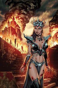 [Myths & Legends: Quarterly Dark Princess #3 (Cover A Salazar) (Product Image)]