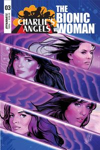 [Charlies Angels Vs Bionic Woman #3 (Cover A Staggs) (Product Image)]