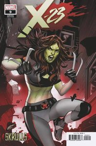 [X-23 #9 (Lupacchino Skrulls Variant) (Product Image)]