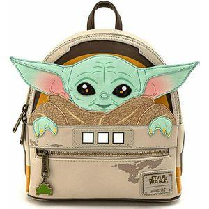[Star Wars: The Mandalorian: Loungefly Mini Backpack: The Child Cradled (Baby Yoda) (Product Image)]