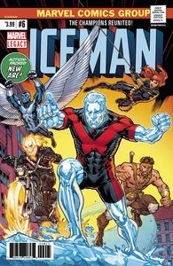 [Iceman #6 (Legacy) (2nd Printing Ryan Variant) (Product Image)]