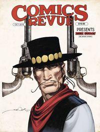 [The cover for Comics Revue Presents: October 2018]