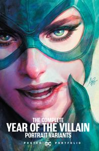 [DC Poster Portfolio: The Complete Year Of The Villain Portrait Variants (Product Image)]