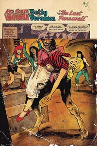 [Red Sonja & Vampirella Meet Betty & Veronica #8 (Cover B Hack) (Product Image)]