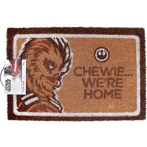 [Star Wars: Door Mat: Chewie We're Home (Product Image)]