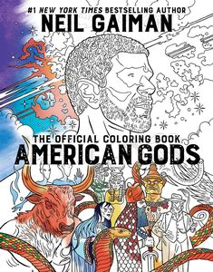 [American Gods: The Official Colouring Book (Product Image)]