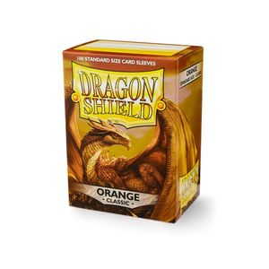 [Dragon Shield: Card Sleeves: Classic Orange (Box Of 100) (Product Image)]