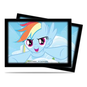 [My Little Pony: Small Deck Protectors: Rainbow Dash (Product Image)]