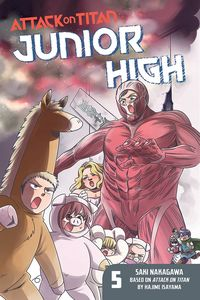 [Attack On Titan: Junior High: Volume 5 (Product Image)]