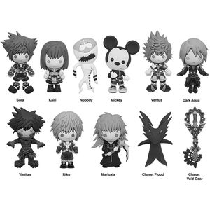[Kingdom Hearts: Figural Keyring: Series 4 (Product Image)]