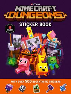 [Minecraft Dungeons Sticker Book (Product Image)]