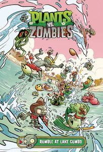 [Plants Vs Zombies: Rumble At Lake Gumbo (Hardcover) (Product Image)]