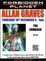 [Allan Graves Signing The Zombook (Product Image)]
