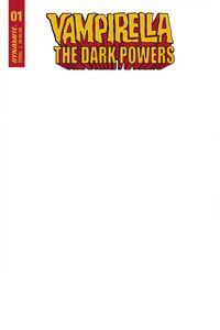 [Vampirella: Dark Powers #1 (Blank Authentix Cover) (Product Image)]