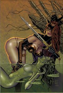 [Tarot: Witch Of The Black Rose #126 (Product Image)]