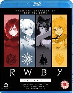 [RWBY: Volume 1 (Blu-Ray) (Product Image)]