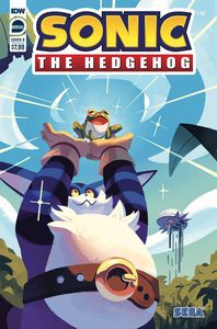 [Sonic The Hedgehog: Annual 2020 (Cover B Fourdraine) (Product Image)]