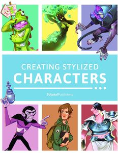 [Creating Stylized Characters (Hardcover) (Product Image)]