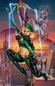 [Robyn Hood: Justice #5 (Cover A Krome) (Product Image)]