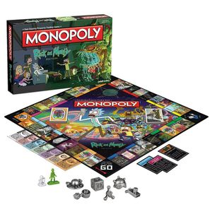 [Rick & Morty Monopoly (Product Image)]