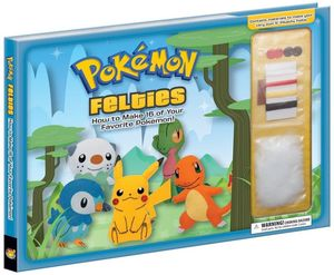 [Pokemon Felties (Hardcover) (Product Image)]