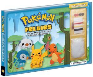 [Pokemon Felties (Hardcover) (Product Image)]