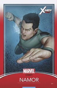 [X-Men: Red #1 (Christopher Trading Card Variant) (Legacy) (Product Image)]