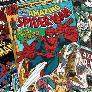 [Spider-Man: Square Calendar: 2020 (Product Image)]