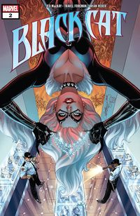 [The cover for Black Cat #2]