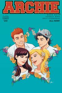 [The cover for Archie #25 (Cover A Audrey Mok)]