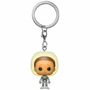 [Rick & Morty: Pocket Pop! Vinyl Keychain: Space Suit Morty (Product Image)]