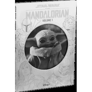 [Star Wars: The Mandalorian: Volume 1 (Disney Die-Cut Classics Hardcover) (Product Image)]
