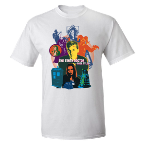 [Doctor Who: Saga Collection: T-Shirt: Tenth Doctor & Rose (Product Image)]