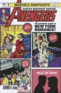 [Avengers: Marvels Snapshot #1 (Staz Johnson Variant) (Product Image)]