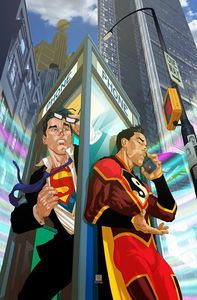 [New Super Man & The Justice League Of China #22 (Variant Edition) (Product Image)]