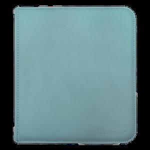[12 Pocket Zippered Pro Binder: Light Blue (Product Image)]