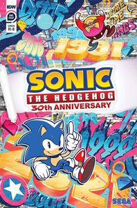 [Sonic The Hedgehog (30th Anniversary Special Tyson Hesse Variant) (Product Image)]