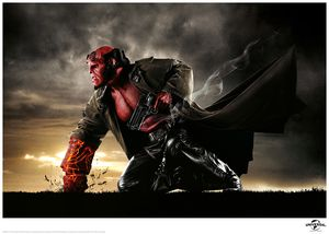 [Hellboy: Limited Edition Print: Right Hand Of Doom (Product Image)]