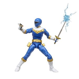 [Power Rangers: Zeo: Lightning Collection Legacy Action Figure: Blue Ranger (Product Image)]