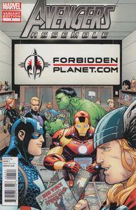 [Avengers Assemble #1 (Forbidden Planet Comic Shop Variant) (Product Image)]
