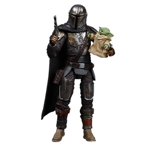 [Star Wars: The Mandalorian: Vintage Collection Action Figure: Din Djarin & The Child (Product Image)]