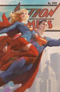 [Action Comics #1000 (Artgerm Vintage Variant) (Product Image)]