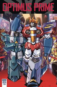 [Optimus Prime: Annual 2018 (Cover A Tramontano) (Product Image)]