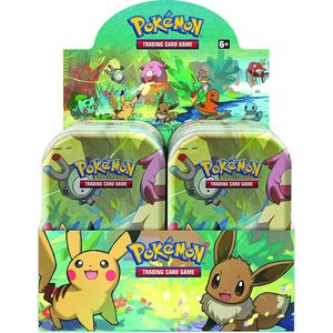 [Pokémon: Trading Card Game: Mini Tin: Kanto Friends (Product Image)]