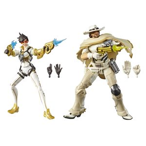 [Overwatch: Ultimates Action Figures: White Mccree & Posh Tracer (Product Image)]