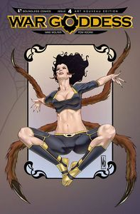 [War Goddess #4 (Art Nouveau Variant) (Product Image)]