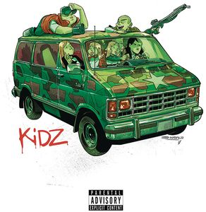 [Kidz #5 (Cover A Cristobol Gorillaz Album Parody) (Product Image)]