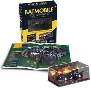 [Batmobile Cutaways: Movie Vehicles 1989 - 2012 Plus Collectible (Product Image)]