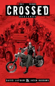 [Crossed: Badlands #13 (Red Crossed Variant) (Product Image)]